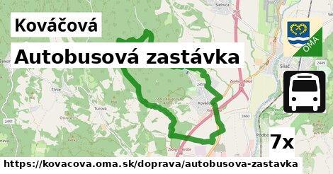 ilustračný obrázok k Autobusová zastávka, Kováčová