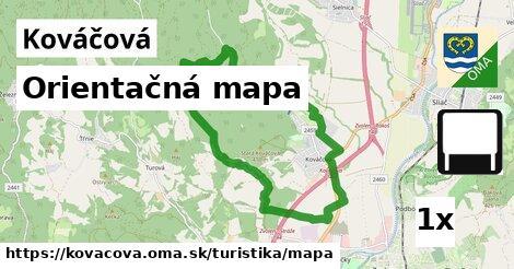 ilustračný obrázok k Orientačná mapa, Kováčová