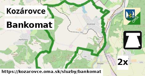 ilustračný obrázok k Bankomat, Kozárovce