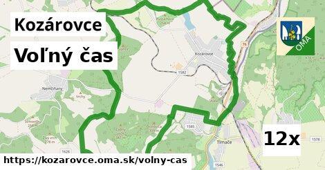 voľný čas v Kozárovce
