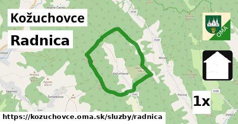 ilustračný obrázok k Radnica, Kožuchovce