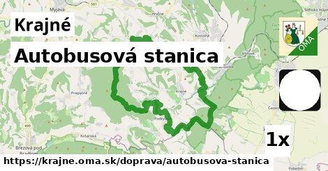 ilustračný obrázok k Autobusová stanica, Krajné