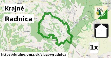 ilustračný obrázok k Radnica, Krajné