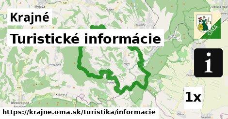 ilustračný obrázok k Turistické informácie, Krajné