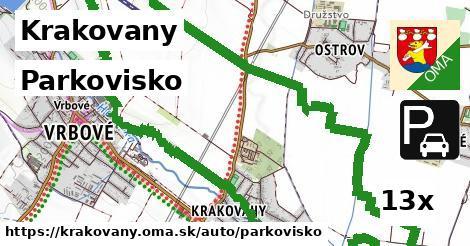 parkovisko v Krakovany