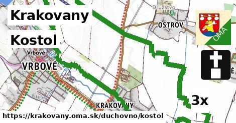 kostol v Krakovany