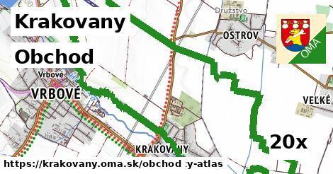 obchod v Krakovany