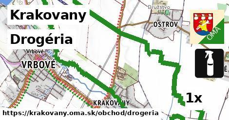 drogéria v Krakovany