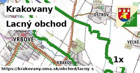 lacný obchod v Krakovany