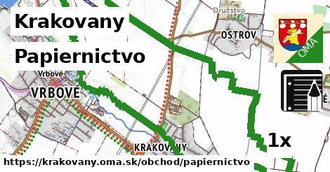 papiernictvo v Krakovany