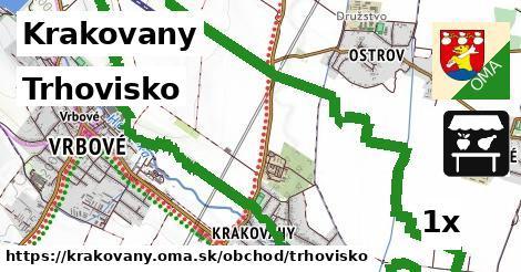 trhovisko v Krakovany