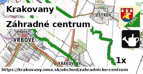 záhradné centrum v Krakovany