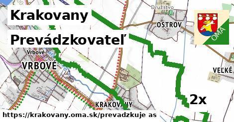 prevádzkovateľ v Krakovany