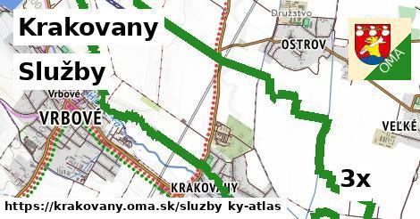 služby v Krakovany