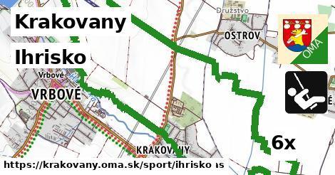 ihrisko v Krakovany