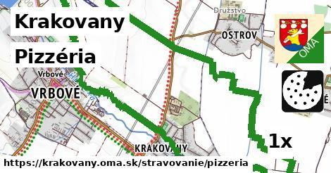 pizzéria v Krakovany