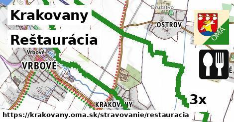 reštaurácia v Krakovany