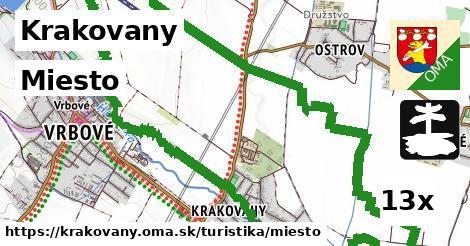 miesto v Krakovany