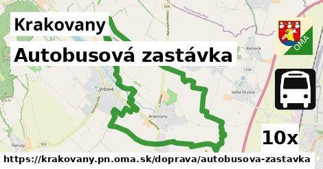 ilustračný obrázok k Autobusová zastávka, Krakovany, okres PN
