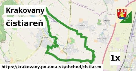 čistiareň v Krakovany, okres PN