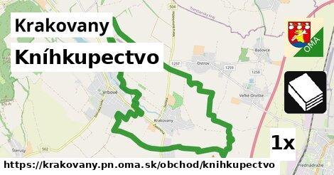 kníhkupectvo v Krakovany, okres PN