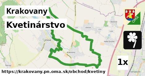 kvetinárstvo v Krakovany, okres PN