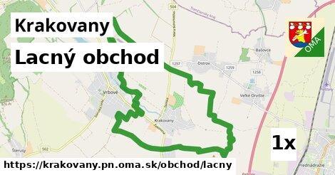 lacný obchod v Krakovany, okres PN