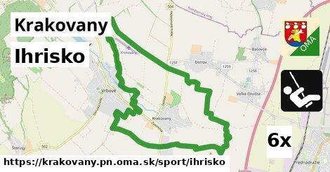 ihrisko v Krakovany, okres PN