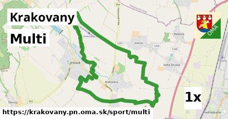 multi v Krakovany, okres PN