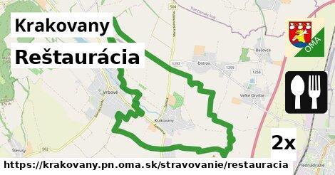 ilustračný obrázok k Reštaurácia, Krakovany, okres PN