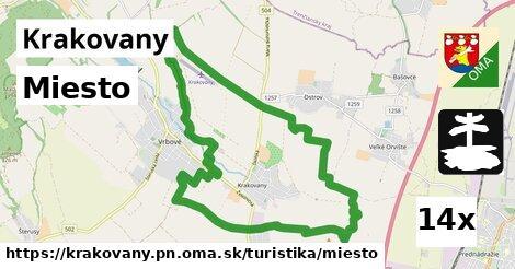 ilustračný obrázok k Miesto, Krakovany, okres PN