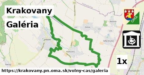 galéria v Krakovany, okres PN