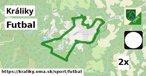 futbal v Králiky