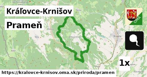 ilustračný obrázok k Prameň, Kráľovce-Krnišov