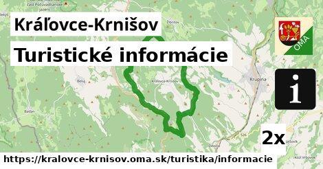 ilustračný obrázok k Turistické informácie, Kráľovce-Krnišov