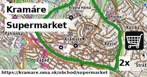 supermarket v Kramáre