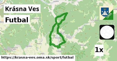 ilustračný obrázok k Futbal, Krásna Ves