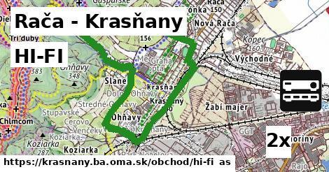 HI-FI v Rača - Krasňany