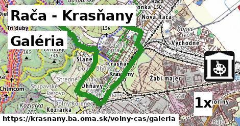 galéria v Rača - Krasňany