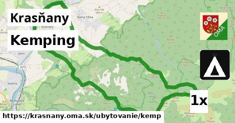 kemping v Krasňany