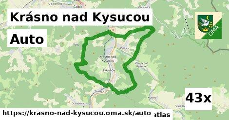 auto v Krásno nad Kysucou