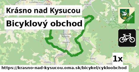 ilustračný obrázok k Bicyklový obchod, Krásno nad Kysucou
