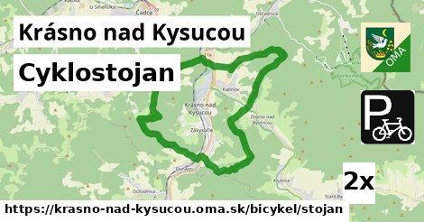 ilustračný obrázok k Cyklostojan, Krásno nad Kysucou