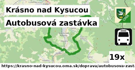 ilustračný obrázok k Autobusová zastávka, Krásno nad Kysucou