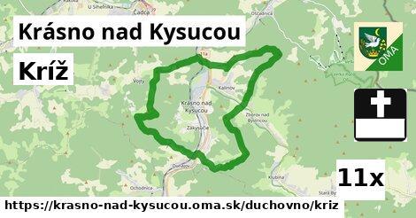 ilustračný obrázok k Kríž, Krásno nad Kysucou