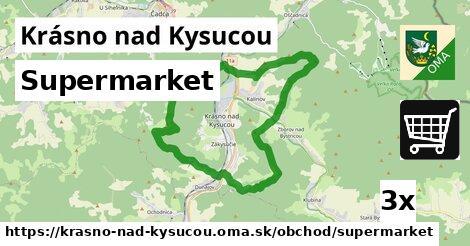 ilustračný obrázok k Supermarket, Krásno nad Kysucou