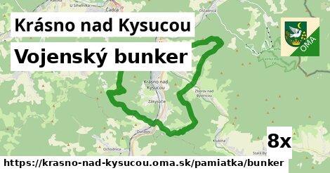 ilustračný obrázok k Vojenský bunker, Krásno nad Kysucou