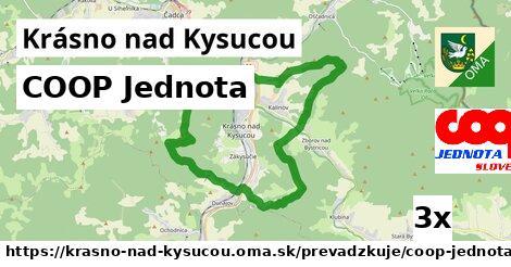 ilustračný obrázok k COOP Jednota, Krásno nad Kysucou