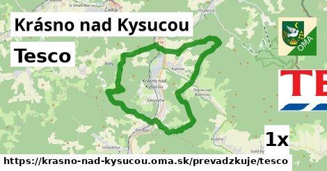 ilustračný obrázok k Tesco, Krásno nad Kysucou