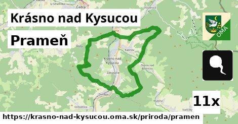 ilustračný obrázok k Prameň, Krásno nad Kysucou